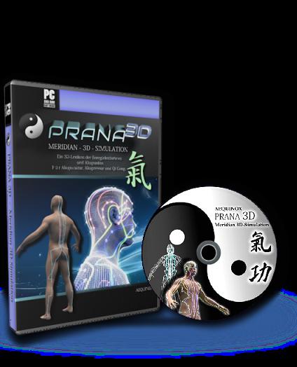 Prana3D - Meridian-3D-Simulation & Lexikon